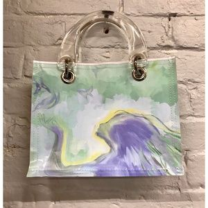 Purse, Sustainable Materials, Custom Artwork